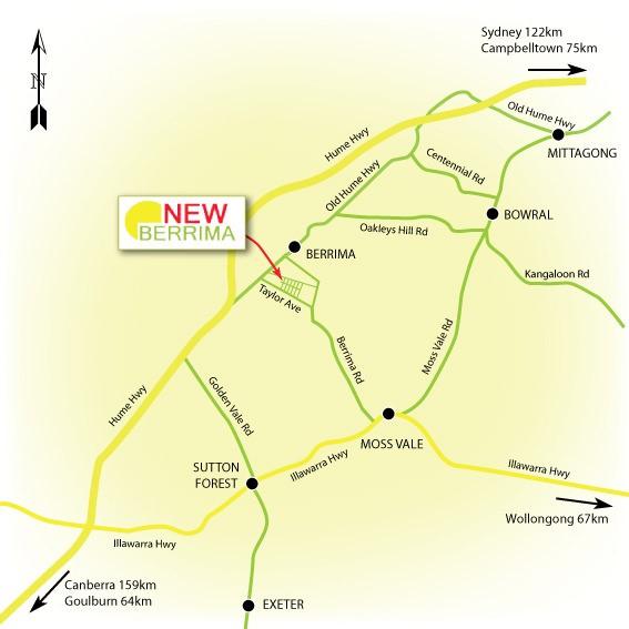New Berrima Map
