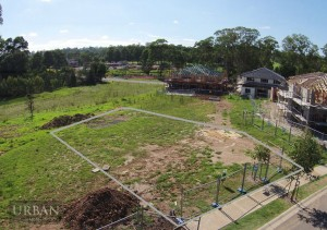 2015-JAN-23 Drone Photo of Lot Marked Watermarked