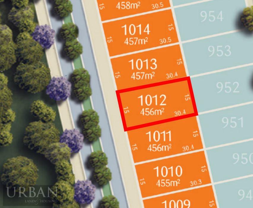 WM Lot 1012 Lot Plan
