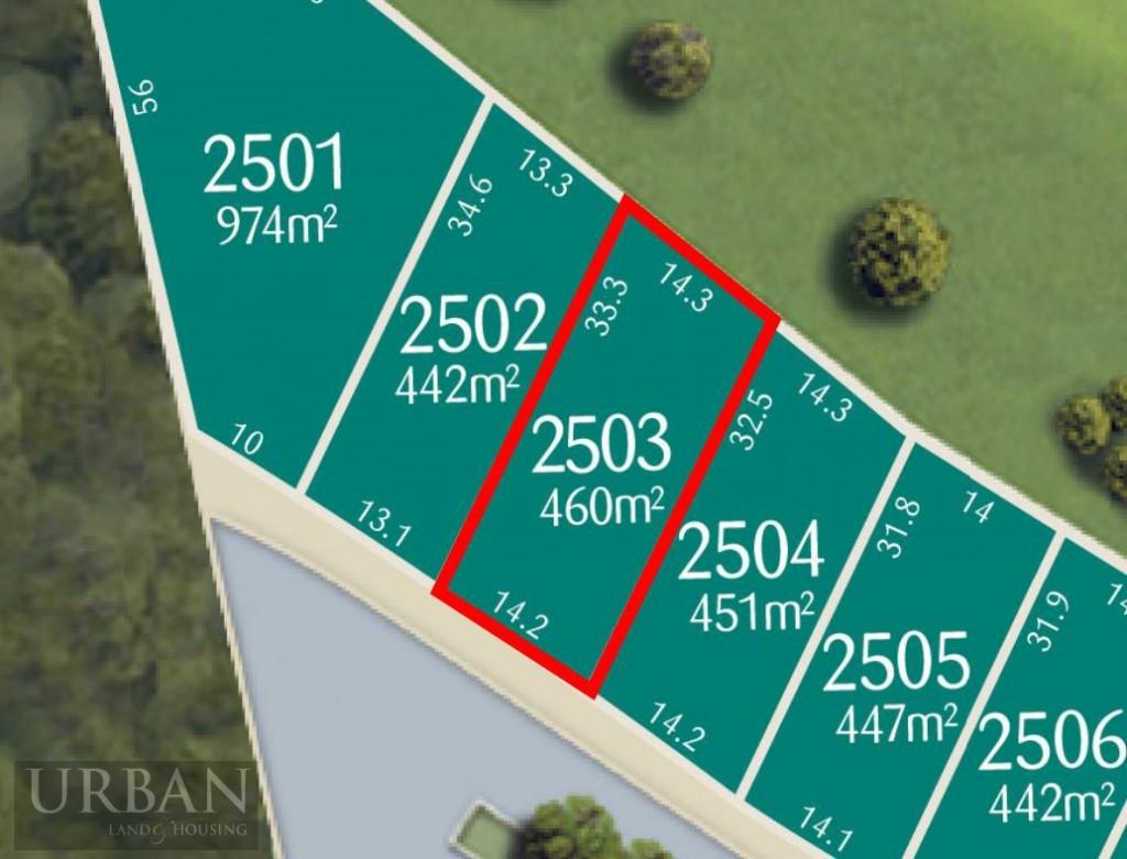 Wm Lot 2503 Lot Plan