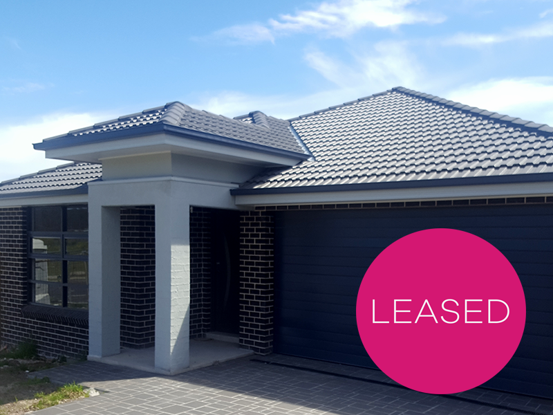 Chisholm | Hunter | Property Management | Leased | 53 Heritage Drive | Brand New 5 Bedroom Home