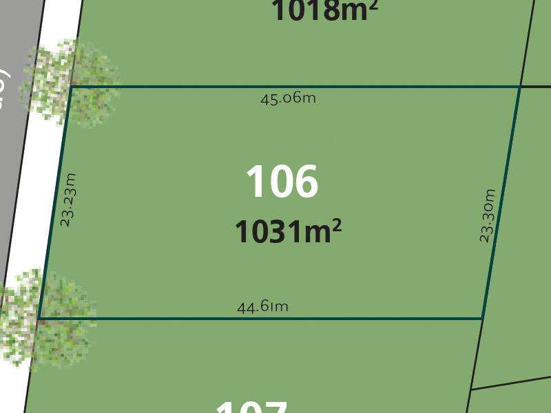 Glenmore Park   Mulgoa Sanctuary   Real Estate   Land for Sale   Block Of The Week   Lot 106   Large Block of 1031m2   With Uninterrupted Views Of Bushland